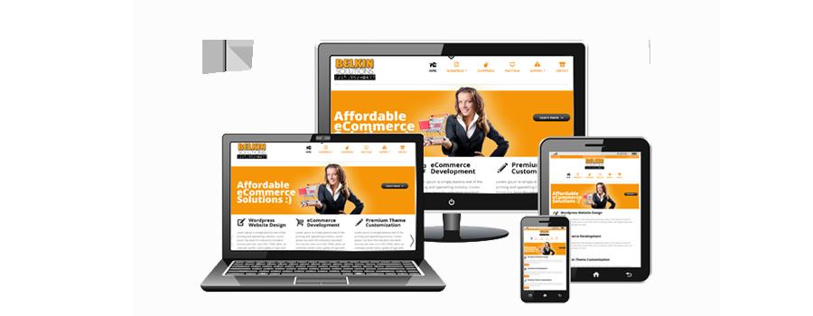web design company wordpress ecommerce seo belkin solutions llc